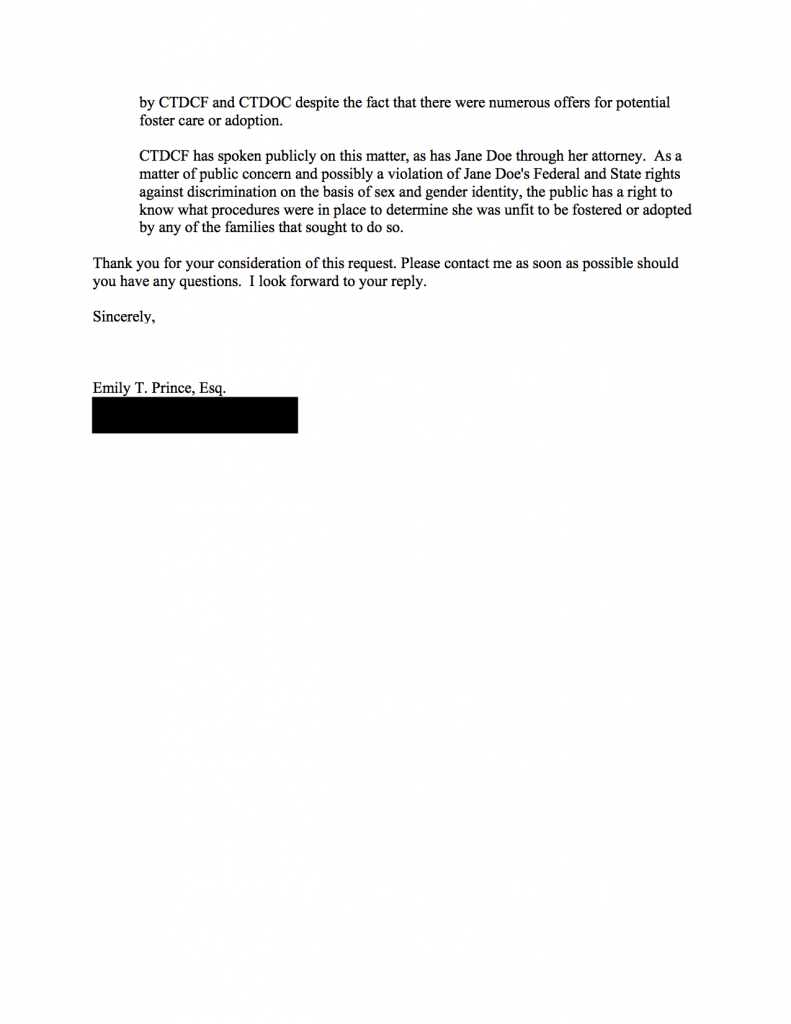 CTDCF FOIA3 - Eligibility for Adoption (redacted) 2